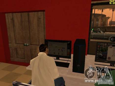 Ganton Cyber Cafe Mod v1.0 for GTA San Andreas fifth screenshot