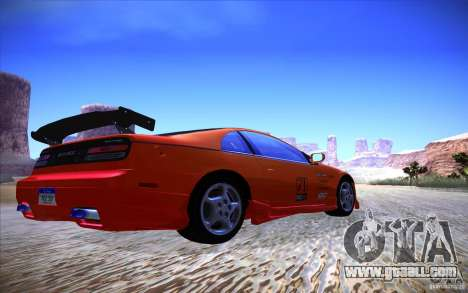 Nissan 300ZX Twin Turbo for GTA San Andreas back left view