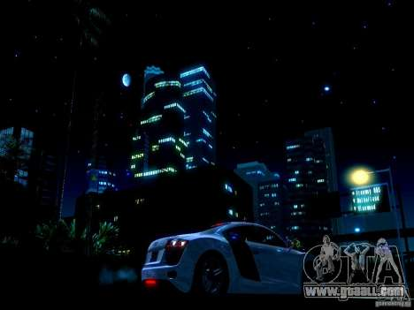 Starry sky V 2.0 (single player) for GTA San Andreas third screenshot