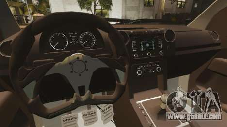 Volkswagen Amarok Light Tuning for GTA 4 inner view