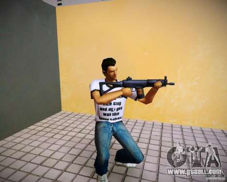 Sig552 for GTA Vice City
