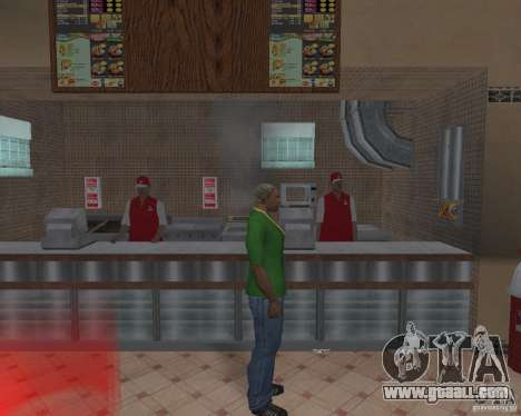 New textures of eateries and shops for GTA San Andreas eighth screenshot