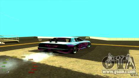 Pack vinyl for Elegy for GTA San Andreas third screenshot