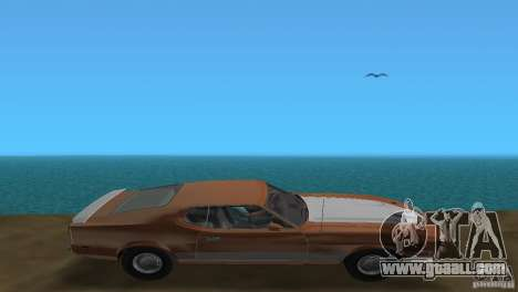 Ford Mustang 1973 for GTA Vice City back view