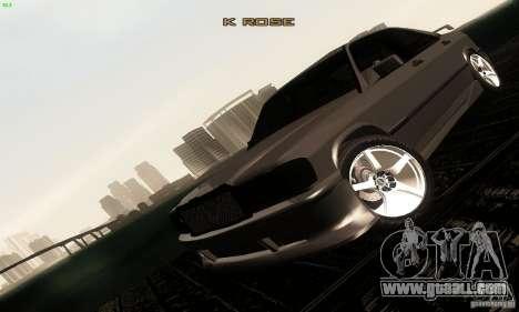 Mercedes-Benz 190E V2.0 for GTA San Andreas side view