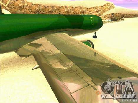 Boeing E-767 for GTA San Andreas side view