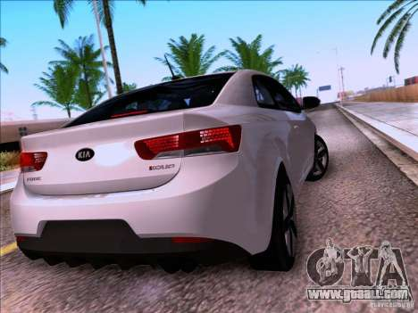 Kia Forte Koup SX for GTA San Andreas side view