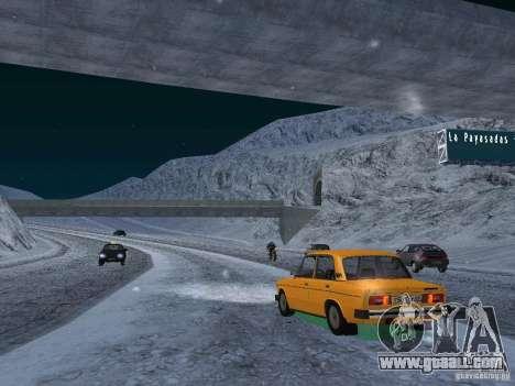 Snow for GTA San Andreas eighth screenshot