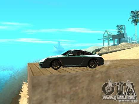 Porsche 997 GT3 RS for GTA San Andreas left view