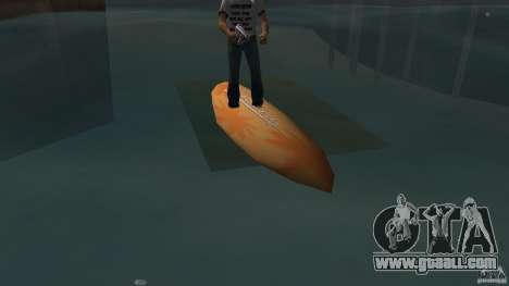 Surfboard 2 for GTA Vice City left view
