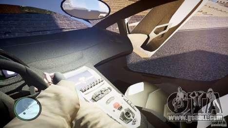 Lamborghini Aventador LP 700-4 for GTA 4 upper view
