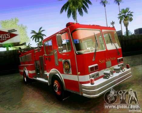 Pumper Firetruck Los Angeles Fire Dept for GTA San Andreas