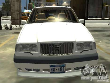 Volvo 850 R 1996 Rims 2 for GTA 4 back view