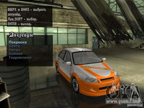 Lada Kalina Sport Tuning for GTA San Andreas side view