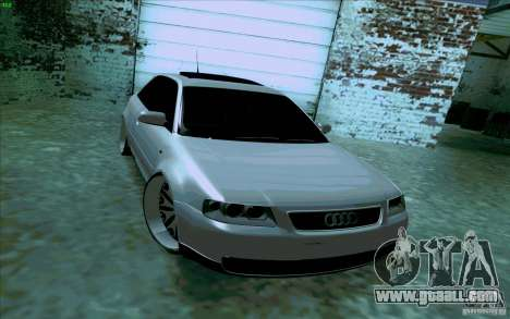 Audi A3 DUB Edition for GTA San Andreas back left view