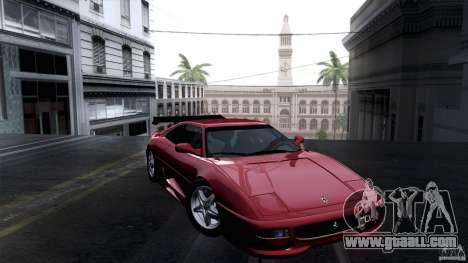Ferrari F355 Challenge 1995 for GTA San Andreas back view