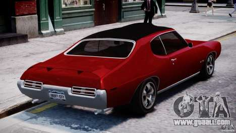 Pontiac GTO 1965 v1.1 for GTA 4 side view