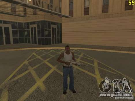 Regeneration of the arms in murder for GTA San Andreas third screenshot