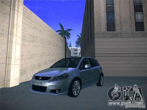 Suzuki SX4 2012 for GTA San Andreas