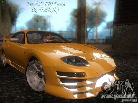 Mitsubishi FTO Tuning for GTA San Andreas