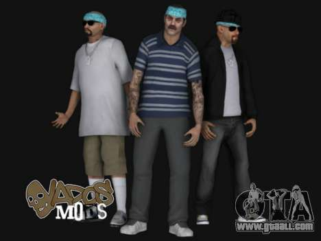 Aztecas HD SkinPack for GTA San Andreas