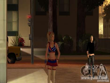 Juliet Starling for GTA San Andreas second screenshot