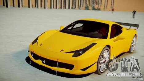 Ferrari 458 Challenge 2011 for GTA 4 right view