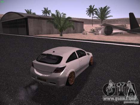 Vauxhall Astra VXR Tuned for GTA San Andreas left view