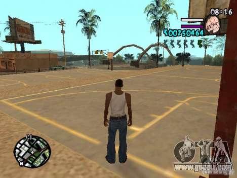 HUD by Hot Shot v2.1 for GTA San Andreas second screenshot