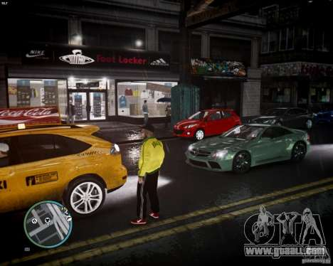Foot Locker Shop v0.1 for GTA 4 forth screenshot