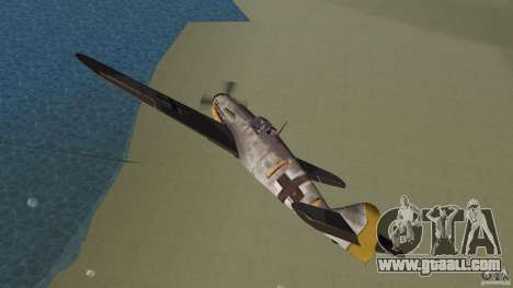 WW2 War Bomber for GTA Vice City inner view