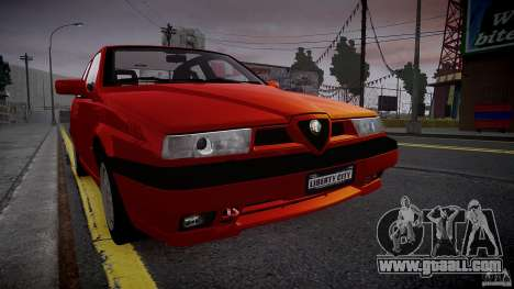 Alfa Romeo 155 Q4 1992 for GTA 4 left view
