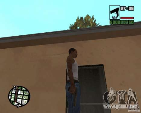 Tula-Tokarev TT for GTA San Andreas third screenshot
