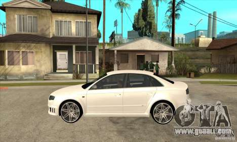 Audi RS4 2006 v2 for GTA San Andreas left view