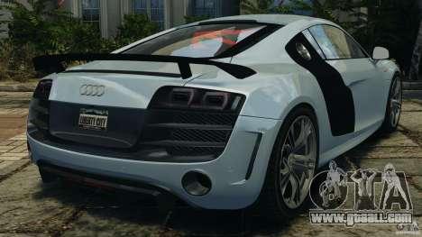 Audi R8 GT 2012 for GTA 4 back left view