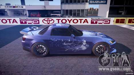 Honda S2000 Tuning 2002 skin 2 calm for GTA 4 side view