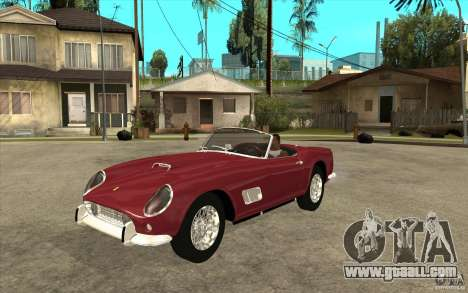 Ferrari 250 California 1957 for GTA San Andreas