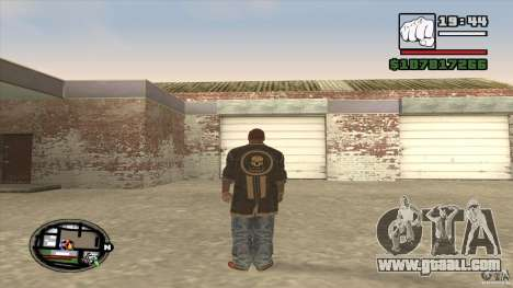 Sam B from Dead Island for GTA San Andreas forth screenshot