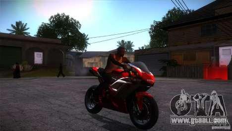 Ducati 1098 for GTA San Andreas back view