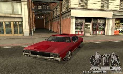 Sabre Drift for GTA San Andreas