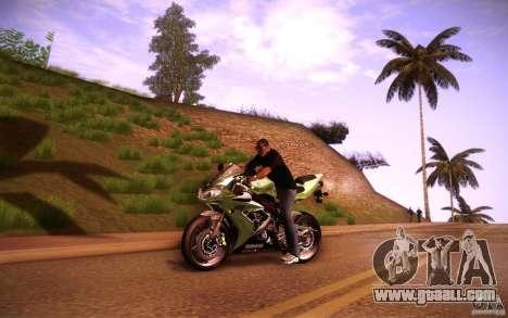 Yamaha YZF R1 for GTA San Andreas left view