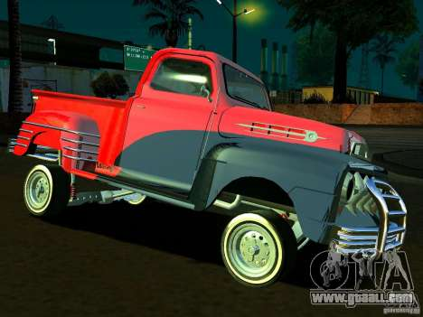Ford Pick Up Custom 1951 LowRider for GTA San Andreas side view