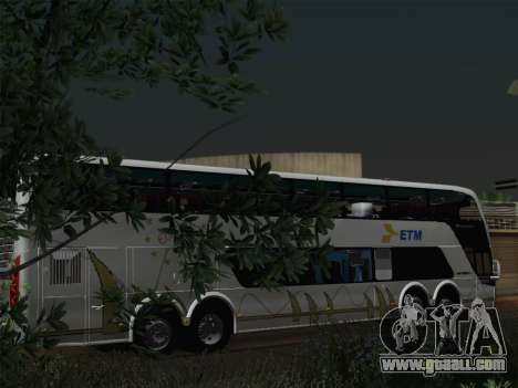 Busscar Panoramico DD 8x2 for GTA San Andreas engine