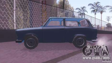 Trabant 601S for GTA San Andreas back view