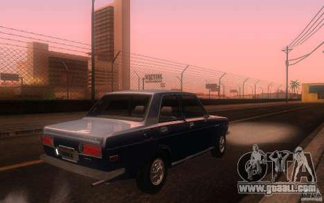 Datsun 510 4doors for GTA San Andreas right view