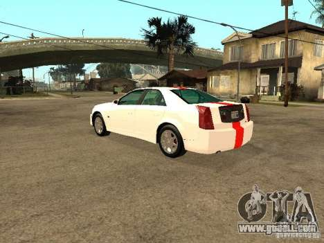 Cadillac CTS 2003 Tunable for GTA San Andreas left view