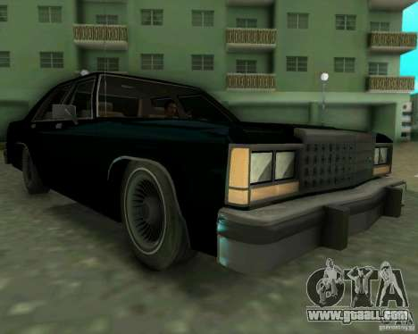 Ford Crown Victora LTD 1985 for GTA Vice City left view