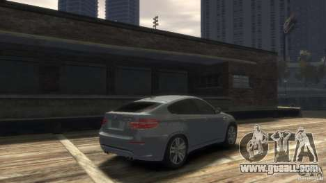 BMW X6M for GTA 4 back left view