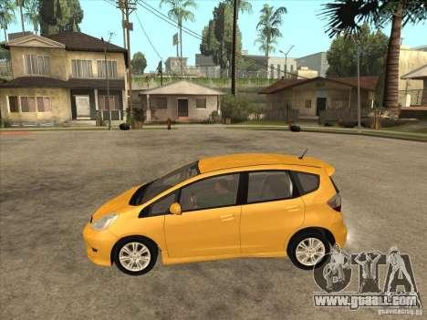 Honda Jazz (Fit) for GTA San Andreas left view