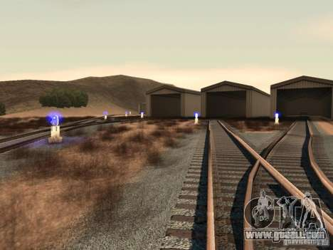 Railway traffic lights 2 for GTA San Andreas fifth screenshot